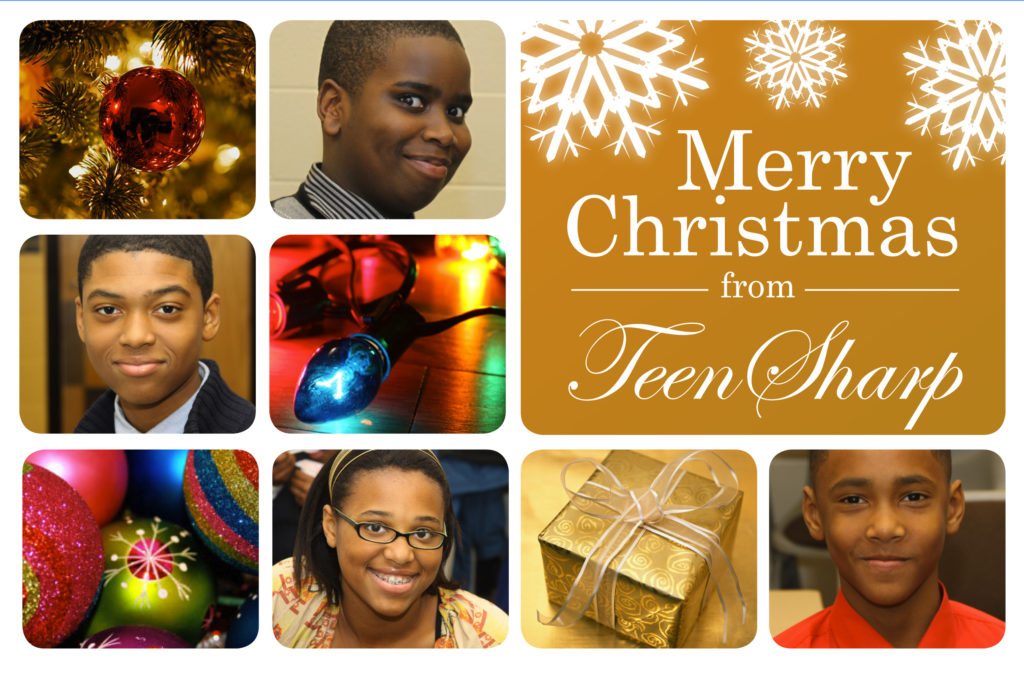 Teensharp holiday card