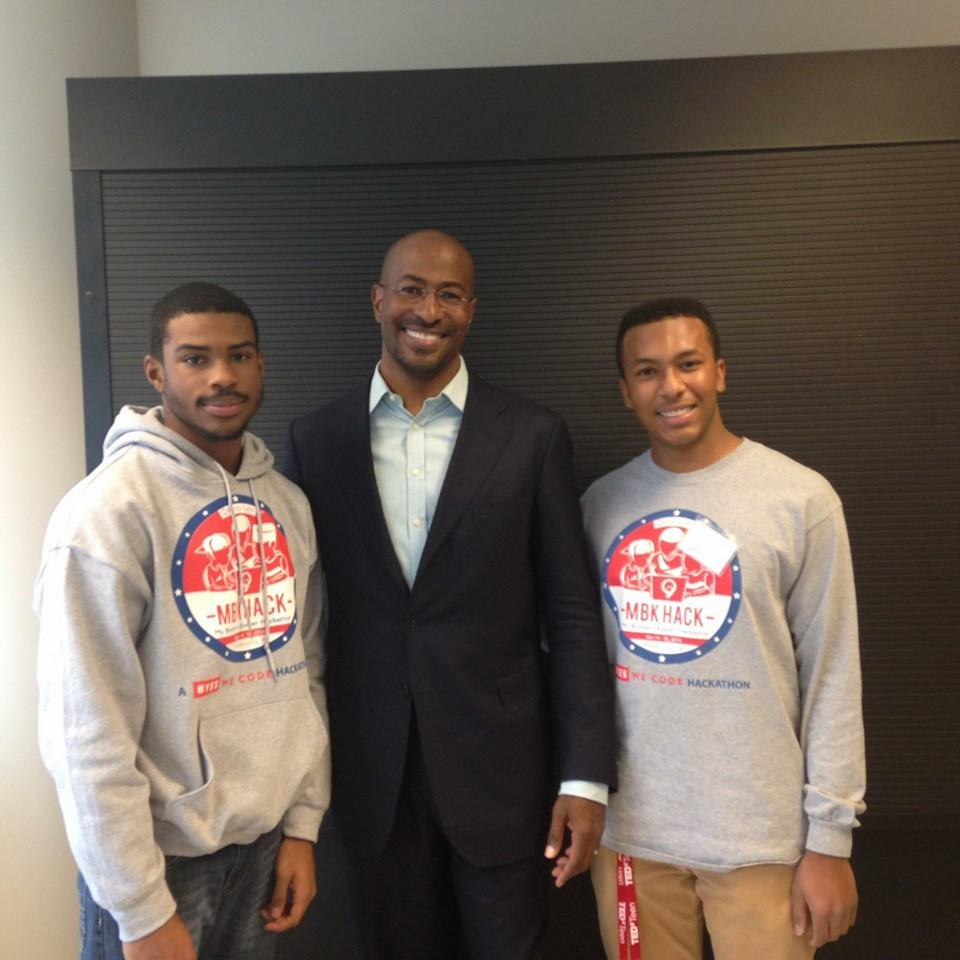 TeenSHARPies with Van Jones